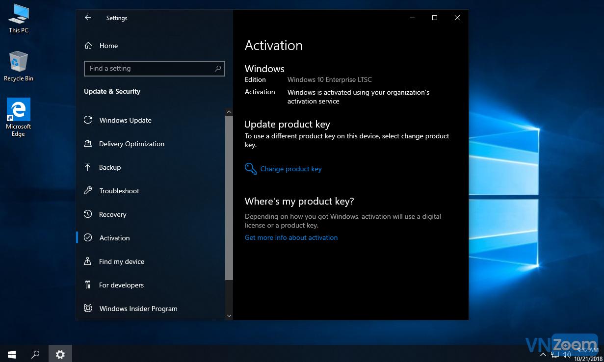 Windows 10 Enterprise LTSC 2019 (64 bít v 10 0 17763 104