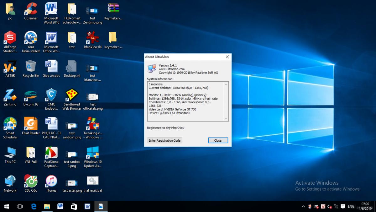 Desktop & Văn phòng - UltraMon 3 4 1 Full - Ứng dụng tăng