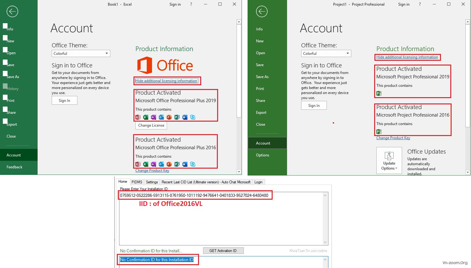 Thảo luận - Review - Phục hồi bản quyền Windows 10 và Office trên 1