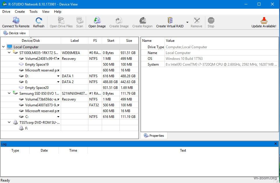 PM Hệ thống - R-Studio 8 10 Build 173981 Network Edition